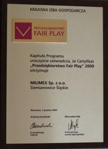 Fair Play 2009