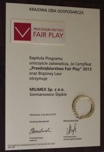 Fair Play 2013