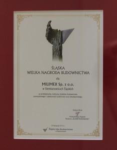 Śląska Wielka Nagroda Budownictwa 2013